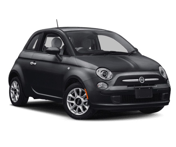 rent-a-car-athens-greece fiat 500 black