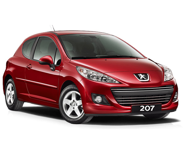 rent-a-car-athens-greece icarus peugeut red