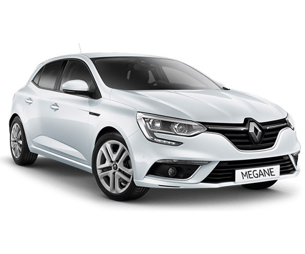 rent-a-car-athens-greece renault megane white