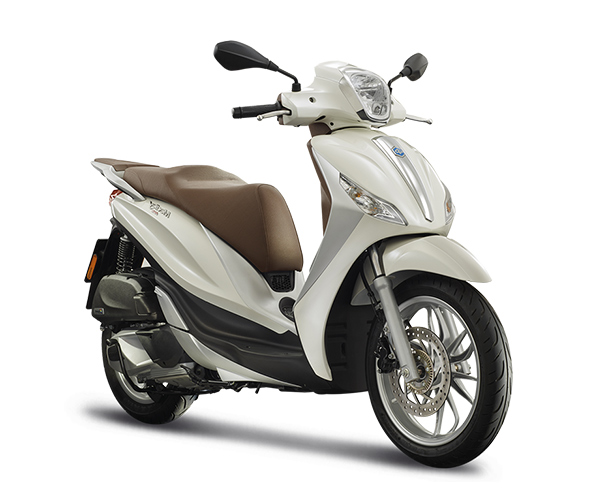 rent a piaggio white scooter Athens